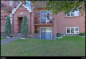 2 bedroom condo SOUTH SHORE OF MONTREAL
