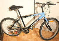 "Vélo de montagne / mountain bike (pneus / tires: 24"" )"