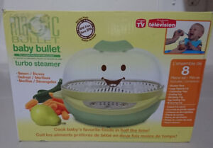 Baby Bullet Turbo Food Steamer