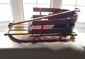 Wooden Sled/Photography Prop