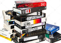 We convert to DVD all VCR-VHS family videotapes PAL/Secam/NTSC