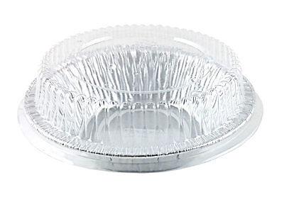 4 78 Foil Tart Pan 1 14 Deep Wdome Lid - Aluminum Mini-pie Plate Tin 50pk