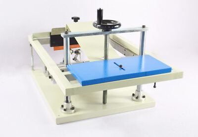 Manual Cylinder Screen Printing Machine Press Bottle Cup Pen Surface Curve Press