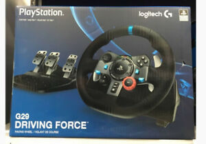 Logitech G29 Driving Force Racing Wheel for PS4/PC-NEW IN BOX