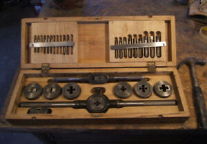 Tool Collector's  Tap and Die Set