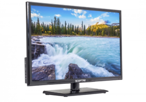 ae67f6400 Sceptre TV 24 Inch LED 720p HDTV HDMI High Definition Clear Audio ...