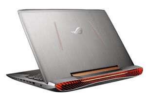 """ASUS Republic of Gamers 17.3"""" Laptop with Windows 10 - Copper Si"""