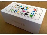 APPLE IPHONE 5S 16GB BRAND NEW BOXED APPLE WARRANTY & SHOP RECEIPT ( EE , VIRGIN , ORANGE )