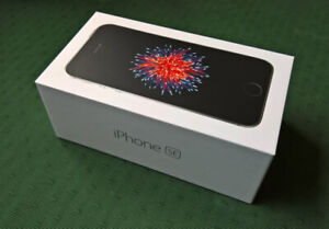 Iphone SE 16GB New Unlocked with accessories/Guarantee