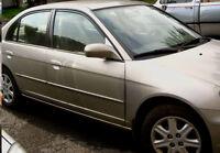 Honda Civic LX 2003, automatique, excellente condition