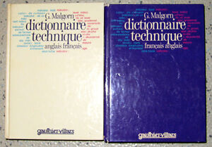 Translation – Reference Books (Bilingual Dictionary, 2 vols)