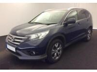2014 BLUE HONDA CR-V 1.6 I-DTEC 120 SR 2WD DIESEL ESTATE CAR FINANCE FR £50 PW