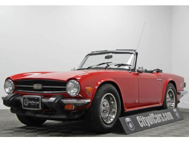 Image 1 of Triumph: TR-6 Red