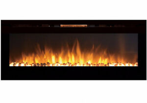 "$549   60"" BUILT IN ELECTRIC FIRE PLACE"