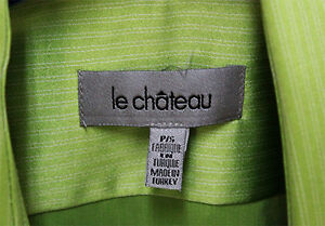 Le Château Shirt - Small - Green West Island Greater Montréal image 2