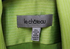 Le Château Shirt - Small - Green West Island Greater Montréal image 2