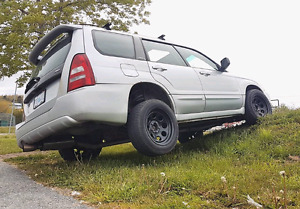 2004 Subaru Forester XT Lifted, Stage 3 Vf48