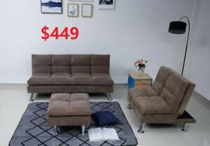 3-PIECE SOFA BED SET FOR 449 ONLY!!!