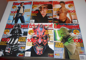 14 Magazines Star Wars Covers - 2005 & 2002