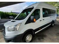 Ford Transit L4H3 Trend 17 Seat Minibus 125ps AC