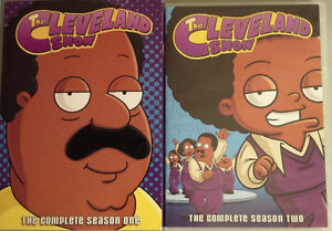 Family Guy, Cleveland Show DVD's for Sale