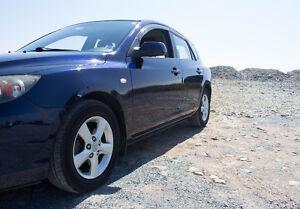 2008 Mazda 3 Sport Hatchback, w. LOW km's only 122K, NON smoker
