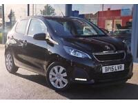 2015 PEUGEOT 108 1.0 Active GBP0 TAX, DAB and B TOOTH