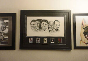 The Greats - Original Art - Hand drawn signed by artist London Ontario image 1