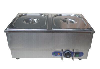 110v Commercial Hot Dog Steamer Bun Warmer Ss 12.610.25.9 Of Each Pan