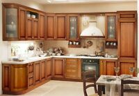 KITCHEN CABINETS FOR SALE MAPLE AND PVC LOW PRICES FOR QUARTZ