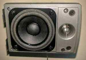 4 jbl 100 watt satellite speakers and psb 100w center channel  Sarnia Sarnia Area image 2