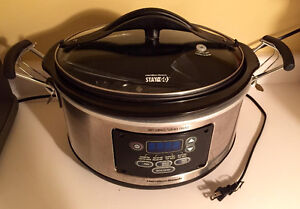 Used big slow cooker Hamilton Beach 6qt in very good condition