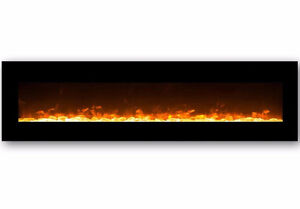 """95"""" Electric Wall Mount Fireplace"""