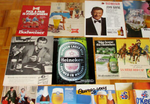 ANONCES BIERE ANCIENNE RETRO - VINTAGE BEER ADS 50S 60S 70S 80S