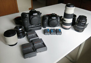 Canon 50D digital camera system