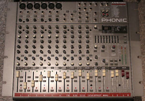 Phonic AM642D Mixer (make me an offer?)