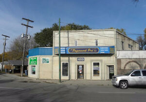 Retail/Office Space for Lease on Pembina Highway near Downtown