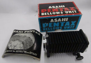 Vintage Asahi Pentax Bellows Unit for all M42 Screw Mount Camera