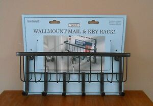 Mail & Key Rack