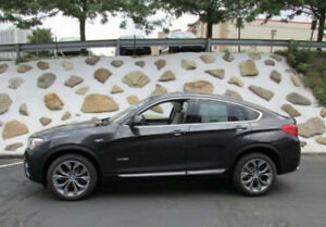 BMW X4 - 2018 LEASE transfer
