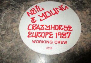 NEIL YOUNG EUROPE 1987