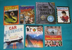 Science Resource Books(12) for the Jr/Intermediate classroom