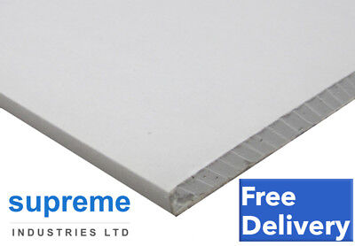 Plasterboard 8x4 x 10 Boards (2400x1200) 12.5mm Thickness Square Edge