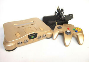 Japanese Nintendo 64 Gold Version Prince George British Columbia image 1