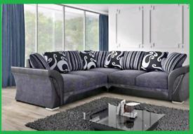 👷 Doom Sale Shannon Corner Sofa Or 3+2👷