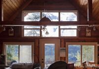 CABIN FOR SALE - On a Gem of  a Lake - East Barriere Lake!