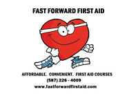 All First-Aid Courses are only $125!  *Canadian Red Cross!*