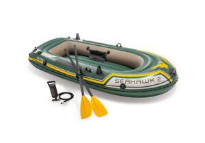 Intex seahawk inflatable boat