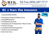 IEC 2 years Visa Insurance for Canada