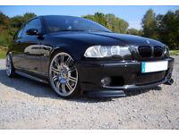 BMW E46 2D Pre-Facelift Black Kidney Grilles Grill M3 Coupe-Convertible M 98-02